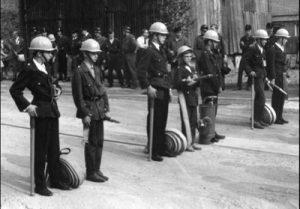 Eine Jugendfeuerwehrübung 1969