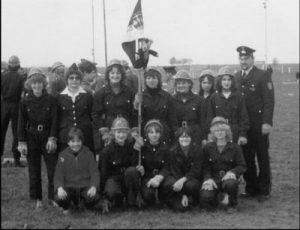 Die Mädchengruppe der Feuerwehr Semd