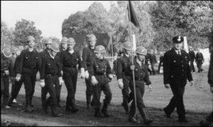 Gewinnertruppe der Jugendfeuerwehrwettkämpfe 1991